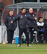 Dundee manager Paul Hartley - Dundee v Ross County in the Ladbrokes Scottish Premiership at Dens Park, Dundee. Photo: David Young<br /> <br />  - &copy; David Young - www.davidyoungphoto.co.uk - email: davidyoungphoto@gmail.com