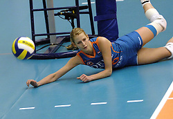 08-10-2006 VOLLEYBAL: SUPERCUP DELA MARTINUS - PLANTINA LONGA: DOETINCHEM<br /> Martinus wint vrij eenvoudig met 3-0 van Longa en pakt de Supercup / Debby Stam<br /> ©2006: WWW.FOTOHOOGENDOORN.NL