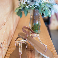 Ashley & Jeremiah pictured at their wedding at the Barn at the Backwoods in Thornville, in August.