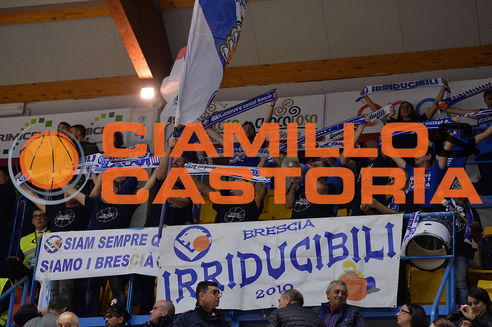 Ultras, Tifosi, Spettatori, Pubblico , Germani Basket Brescia<br /> Happycasa Brindisi - Germani Basket Brescia<br /> Legabasket serieA2017-2018<br /> Brindisi , 29/10/2017<br /> Foto Ciamillo-Castoria/M.Longo