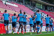 ALKMAAR - 24-08-2016, training AZ, AFAS Stadion, AZ speler Ridgeciano Haps