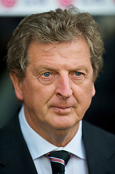 LONDON, ENGLAND - Sunday, September 13, 2009: Fulham's manager Roy Hodgson during the Premiership match at Craven Cottage. (Photo by David Rawcliffe/Propaganda)