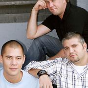 Three Promo Shoot w/ Matty H, Neil Aline & Jay J