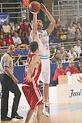 DESCRIZIONE : Torino Qualificazione Eurobasket 2009 Italia Bulgaria<br /> GIOCATORE : Matteo Soragna  <br /> SQUADRA : Nazionale Italia Uomini<br /> EVENTO : Raduno Collegiale Nazionale Maschile <br /> GARA : Italia Bulgaria Italy Bulgaria<br /> DATA : 17/09/2008 <br /> CATEGORIA : tiro <br /> SPORT : Pallacanestro <br /> AUTORE : Agenzia Ciamillo-Castoria/M.Marchi <br /> Galleria : Fip Nazionali 2008<br /> Fotonotizia : Torino Qualificazione Eurobasket 2009 Italia Bulgaria<br /> Predefinita :
