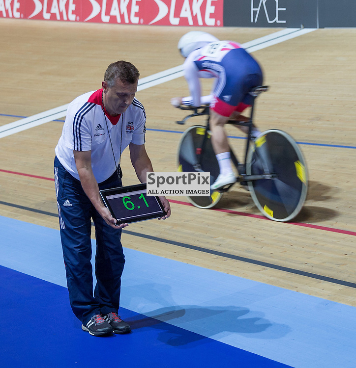 Mark Cavendish, Team GB, during the Men's Omnium Individual Pursuit at the Revoultion Series 2015/6 Round 1 Derby, Day 2, on 15 August 2015 ( (Photo by Mike Poole - Photopoole)