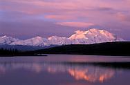 Sunrise Mount McKinley Wonder Lake, Denali Natl.Park Preserve, Alaska, USA