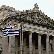 South America, Uruguay, Montevideo, Capitol building
