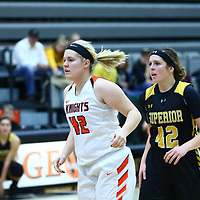 Women's Basketball: Wartburg College Knights vs. University of Wisconsin, Superior Yellow Jackets