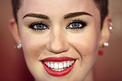 61635295<br /> Miley Cyrus Wax figure at Madame Tussauds, Berlin, Germany, Monday, 2nd June 2014. Picture by  imago / i-Images<br /> UK ONLY
