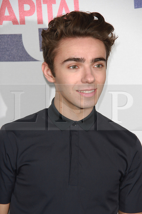 © London News Pictures. Nathan Sykes, Capital FM Summertime Ball, Wembley Stadium, London UK, 06 June 2015, Photo by Brett D. Cove /LNP
