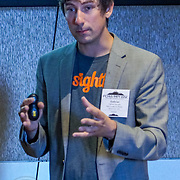 """PCMA/MPIWSC Meetings Industry Summit 2016. """"Digital Advertising Innovation: Generate New Revenue and Acquire New Attendees"""" with Gabriel Gervelis of New Audience Media. Photo by Alabastro Photography."""