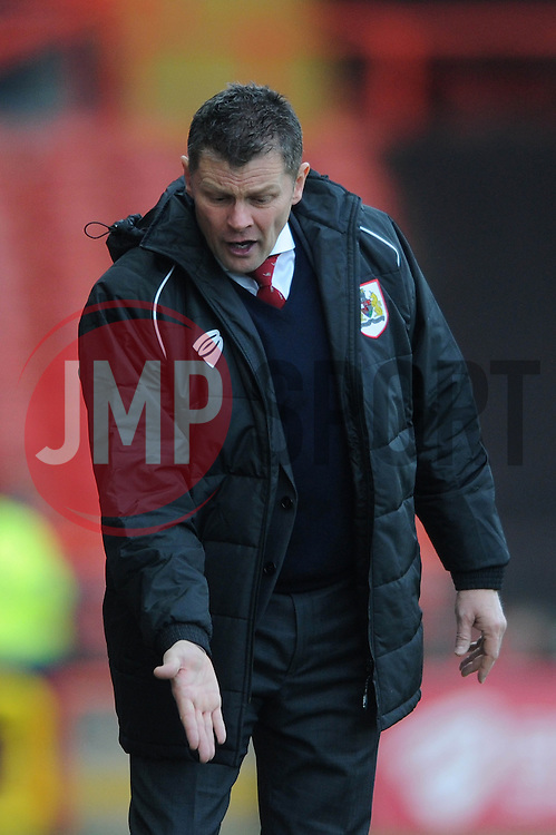 Bristol City manager, Steve Cotterill - Photo mandatory by-line: Dougie Allward/JMP - Mobile: 07966 386802 - 01/02/2015 - SPORT - Football - Bristol - Ashton Gate - Bristol City v Fleetwood Town - Sky Bet League One