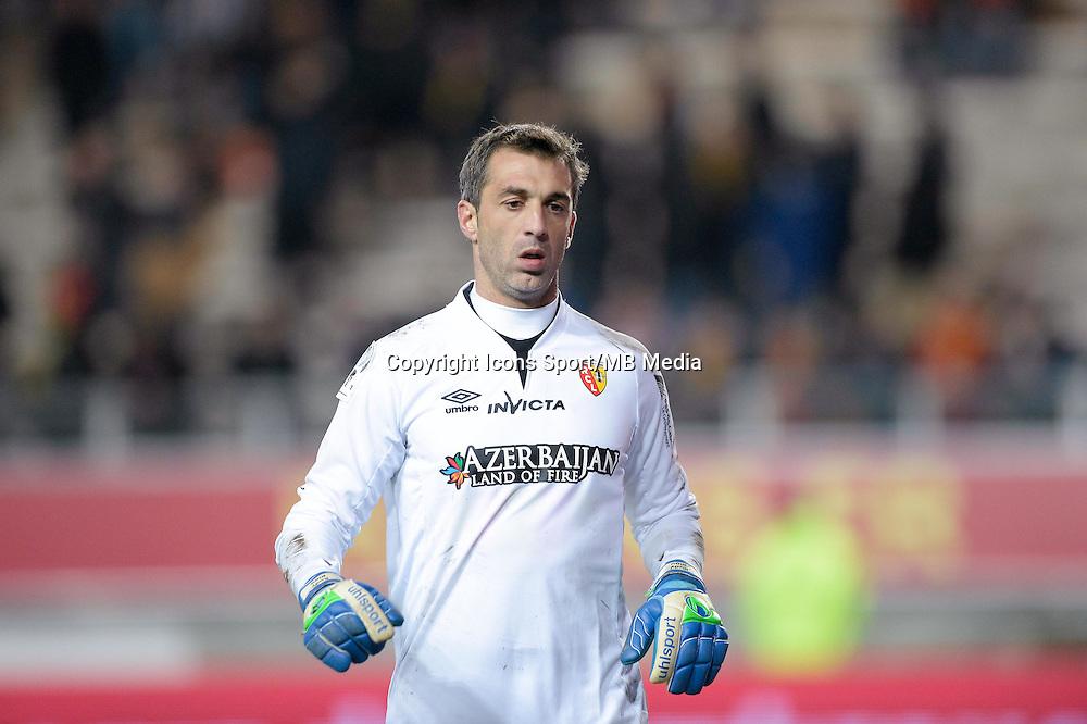 Rudy RIOU - 19.12.2014 - Lens / Nice - 19e journee Ligue 1<br />Photo : Aurelien Meunier / Icon Sport