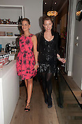 TATIANA OF GREECE; ANDREA TESE, Party hosted for Jason Wu by Plum Sykes and Christine Al-Bader. Ladbroke Grove. London. 22 March 2011. -DO NOT ARCHIVE-© Copyright Photograph by Dafydd Jones. 248 Clapham Rd. London SW9 0PZ. Tel 0207 820 0771. www.dafjones.com.