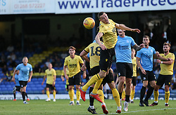 Murray Wallace of Millwall sees the ball clear from a corner - Mandatory by-line: Arron Gent/JMP - 24/07/2019 - FOOTBALL - Roots Hall - Southend-on-Sea, England - Southend United v Millwall - pre season friendly
