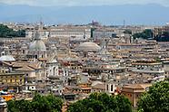 Roma vedute dall'alto collegio americano