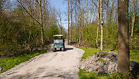 HALFWEG  - AGC , Amsterdamse Golf Club, Nieuw pad.  COPYRIGHT KOEN SUYK