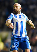 Brighton defender, Bruno Saltor (2) during the Sky Bet Championship match between Brighton and Hove Albion and Brentford at the American Express Community Stadium, Brighton and Hove, England on 5 February 2016. Photo by David Charbit.