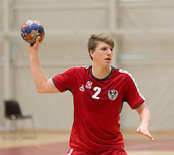 05.11.2016, SPORT. ZENTRUM Niederösterreich, St. Pölten, AUT, Invitational, Österreich vs Serbien, im Bild Lukas Hutecek (AUT)// during the Invitational match between Austria and Serbia at the SPORT. ZENTRUM Niederösterreich, St. Pölten, Austria on 2016/11/05, EXPA Pictures © 2016, PhotoCredit: EXPA/ Sebastian Pucher