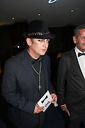 BOY GEORGE, 2012 GQ Men of the Year Awards,  Royal Opera House. Covent Garden, London.  3 September 2012