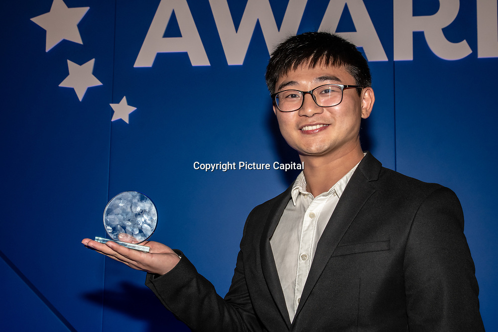 Oppo winner of the Best 5G Network Development in Europe at the 5G Awards ceremony at Drapers' Hall, on 12 June 2019, London, UK.