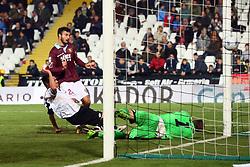 """Foto /Filippo Rubin<br /> 12/11/2017 Cesena (Italia)<br /> Sport Calcio<br /> Cesena - Salernitana - Campionato di calcio Serie B ConTe.it 2017/2018 - Stadio """"Dino Manuzzi""""<br /> Nella foto: SECONDO GOAL SALERNITANA RICCARDO BOCALON<br /> <br /> Photo /Filippo Rubin<br /> November 12, 2017 Cesena (Italy)<br /> Sport Soccer<br /> Cesena - Salernitana - Italian Football Championship League B ConTe.it 2017/2018 - """"Dino Manuzzi"""" Stadium <br /> In the pic: SECOND GOAL SALERNITANA RICCARDO BOCALON"""
