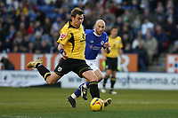 Photo: Pete Lorence.<br />Leicester City v Barnsley. Coca Cola Championship. 16/12/2006.<br />Paul Hayes comes close to scoring.