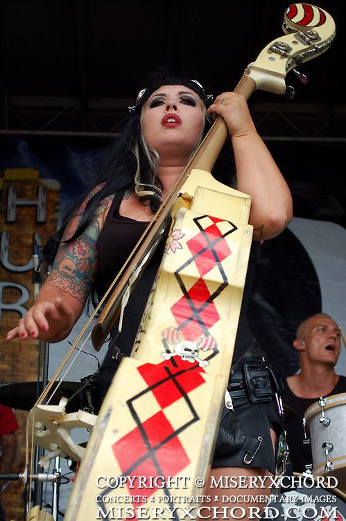 HorrorPops performing at Warped Tour 2008 in Chula Vista, California USA on August 14, 2008