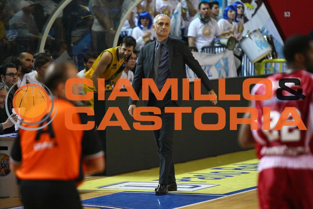 DESCRIZIONE : Cremona Lega A 2013-2014 Vanoli Cremona Giorgio Tesi Group PistoiaGIOCATORE : Cesare Pancotto CoachSQUADRA : Vanoli CremonaEVENTO : Campionato Lega A 2013-2014GARA : Vanoli Cremona Giorgio Tesi Group PistoiaDATA : 23/02/2014CATEGORIA : CoachSPORT : PallacanestroAUTORE : Agenzia Ciamillo-Castoria/F.ZovadelliGALLERIA : Lega Basket A 2013-2014FOTONOTIZIA : Cremona Campionato Italiano Lega A 2013-14 Vanoli Cremona Giorgio Tesi Group PistoiaPREDEFINITA : Ph. Federico Zovadelli