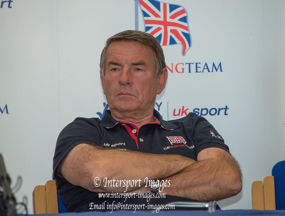 Caversham, United Kingdom,  Jurgen GROBLER,  GBR Rowing, European Championship team announcement, of crews competing in Belgrade, in May. Venue, GBR rowing training base, near Reading,<br /> 10:36:58  Wednesday  14/05/2014<br /> [Mandatory Credit: Peter Spurrier/Intersport<br /> Images]