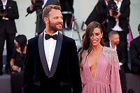 Alessandro Borghi and Roberta Pitrone at the premiere gala screening of the film Roma at the 75th Venice Film Festival, Sala Grande on Thursday 30th August 2018, Venice Lido, Italy.