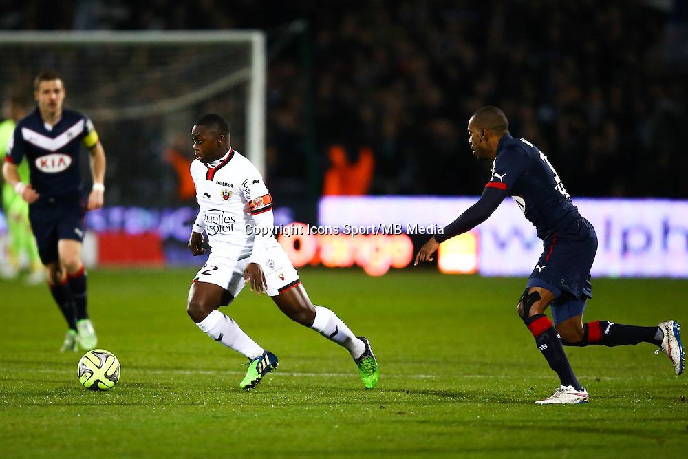 Nampalys Mendy - 16.01.2015 - Bordeaux / Nice - 21e journee Ligue 1<br />Photo : Manuel Blondeau / Icon Sport