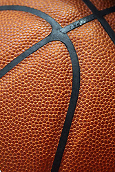 07 January 2015:  close up of basketball