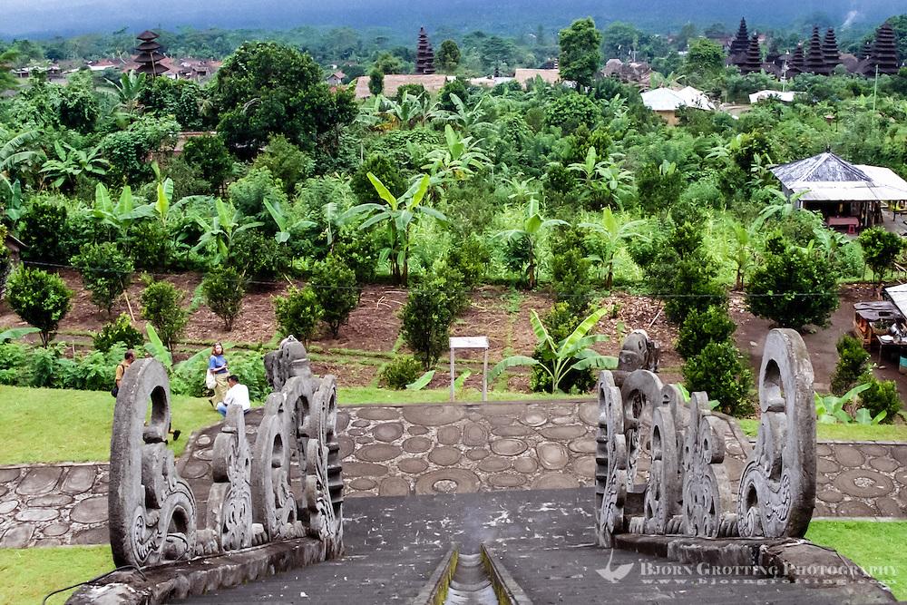 Bali, Karangasem, Besakih. The Mother Temple of Besakih, or Pura Besakih, on the slopes of Mount Agung.