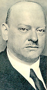 Gustav Stresemann (10 May  1878 – 3 October 1929) German liberal politician and statesman who served as Chancellor and Foreign Minister in 1923, during the Weimar Republic. He was co-winner of the Nobel Peace Prize in 1926.