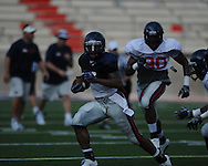 Mississippi's scrimmage at Vaught-Hemingway Stadium in Oxford, Miss. on Saturday, August 14, 2010. (AP Photo/Oxford Eagle, Bruce Newman)