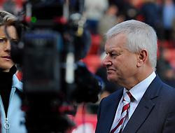 Majority Owner Stephen Lansdown speaks to the BBC  - Photo mandatory by-line: Joe Meredith/JMP - Mobile: 07966 386802 - 25/01/2015 - SPORT - Football - Bristol - Ashton Gate - Bristol City v West Ham United - FA Cup Fourth Round