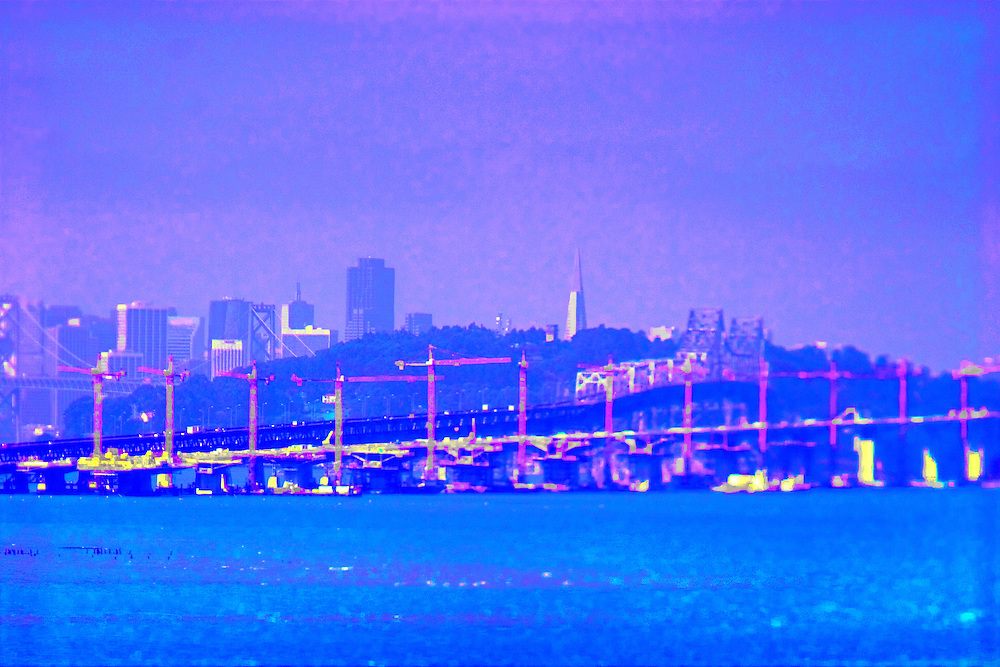 San Francisco skyline from Emeryville, Ca.