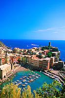 Town of Vernazza, Cinque Terre, Italy