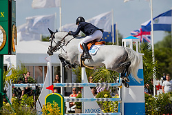 Flam Pal, NOR, Elisabeth<br /> Grand Prix Henders & Hazel <br /> CSI2* Knokke 2019<br /> © Dirk Caremans<br /> Flam Pal, NOR, Elisabeth