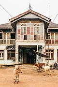 Old colonial era house in Mawlamyine, Shan State, Myanmar