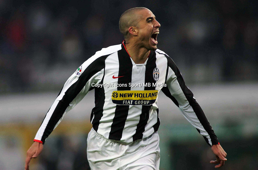 David TREZEGUET - 22.12.2007 - Juventus / Sienne -17eme Journee de Serie A<br />