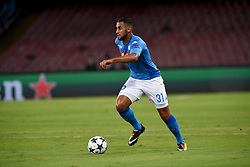 September 26, 2017 - Naples, Naples, Italy - Faouzi Ghoulam of SSC Napoli during the UEFA Champions League Final match between SSC Napoli and Feyenoord at Stadio San Paolo Naples Italy on 27 September 2017. (Credit Image: © Franco Romano/NurPhoto via ZUMA Press)