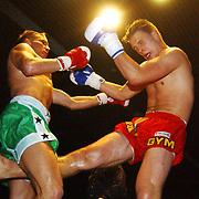 Freefightgala 2004 Hilversum, Jerome Blankenspeer (groene broek) - Ale