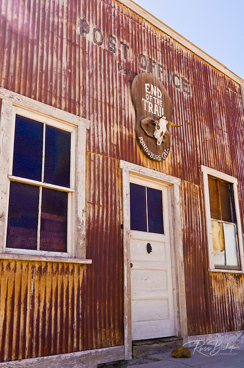 The post office at the ghost town of Randsburg, California