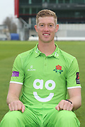 Keaton Jennings during the Lancashire County Cricket Club Media Day at the Emirates, Old Trafford, Manchester, United Kingdom on 11 April 2018. Picture by George Franks.