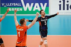 20170525 NED: 2018 FIVB Volleyball World Championship qualification, Koog aan de Zaan<br />Dirk Sparidans (3) of The Netherlands <br />©2017-FotoHoogendoorn.nl / Pim Waslander