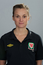 TREFOREST, WALES - Tuesday, February 14, 2011: Wales' Rebecca Thomas. (Pic by David Rawcliffe/Propaganda)
