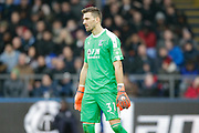 Crystal Palace goalkeeper Vicente Guaita (31) during the Premier League match between Crystal Palace and Chelsea at Selhurst Park, London, England on 30 December 2018.