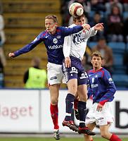 Fotball , 03 mai 2006 , Tippeligaen , Vålerenga - Viking , 1-0,<br /> Tom Henning Hovi , Vålerenga og Trygve Nygaard , Viking